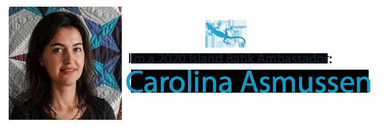 Meet Island Batik Ambassador Carolina Asmussen!